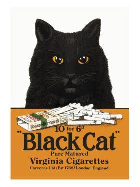 Black Cat Pure Matured Virginia Cigarettes
