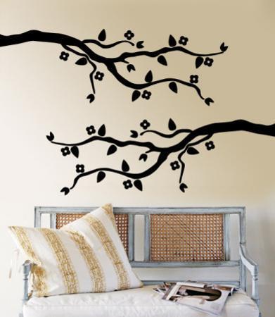 Black Cherry Blossom Branch