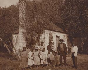 Black Family at the Hermitage, Savannah, 1907