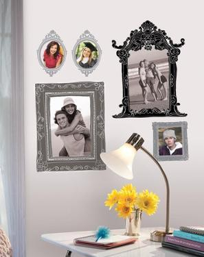 Black & Gray Frames Peel & Stick Giant Wall Decals