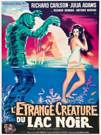 "Black Lagoon, 1954, ""Creature From the Black Lagoon"" Directed by Jack Arnold"