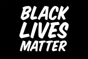 Black Lives Matter Bold Statement