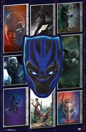 Black Panther - Collage