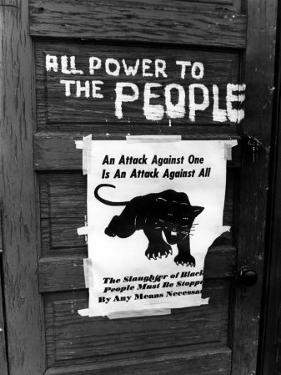 Black Panther Sign, 1970