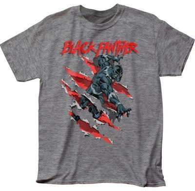 Black Panther- Slashing Through