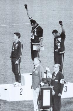 Black Power, Mexico City Olympics 1968