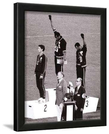 Black Power (Tommie Smith & John Carlos, Olympics, 1968) Photo Print Poster