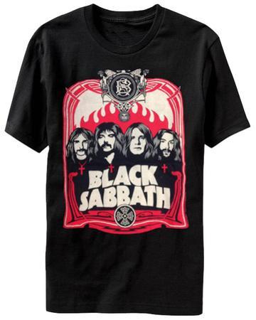 Black Sabbath - Red Flames