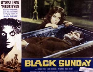 Black Sunday, Barbara Steele, 1961