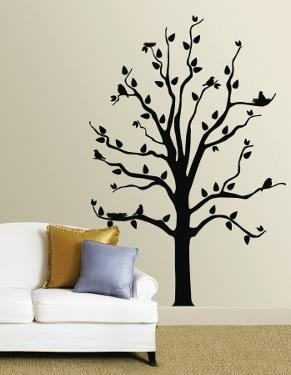 Black Tree With Birds