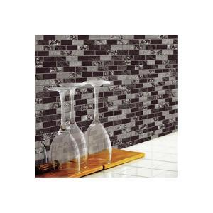 Black & White Mosaic StickTILES™ - 4 Pack