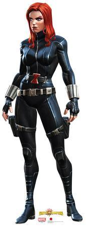 Black Widow - Marvel Contest of Champions Game Lifesize Standup