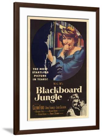 Blackboard Jungle--Framed Poster