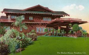 Blacker Craftsman House, Pasadena