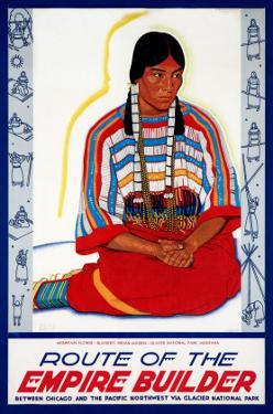 Blackfeet Indian Maiden