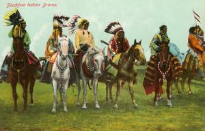 Blackfoot Indian Braves