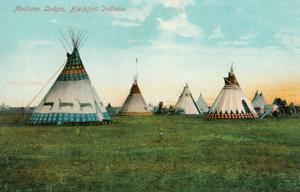 Blackfoot Medicine Lodges