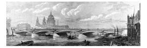 Blackfriars Bridge, London, 1869