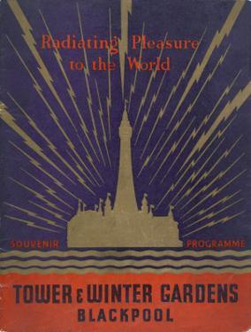 Blackpool Tower and Winter Gardens Souvenir Programme