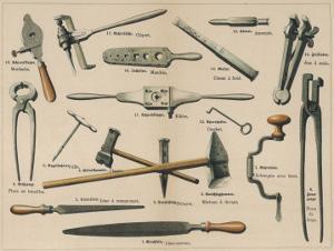 Blacksmith's Tools 1875