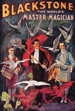 Blackstone, The World's Master Magician, 1920