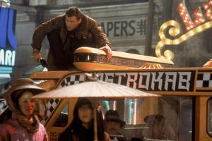BLADE RUNNER, 1981 directed by RIDLEY SCOTT Harrison Ford (photo)