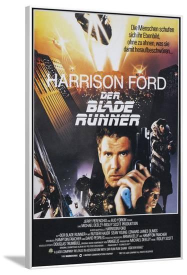 Blade Runner - German Style--Framed Poster