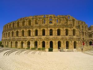 Roman Amphitheatre at Al Jamm by Blaine Harrington