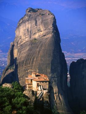 Roussanou Monastery by Blaine Harrington