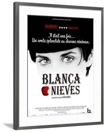 Blancanieves Movie Poster--Framed Poster