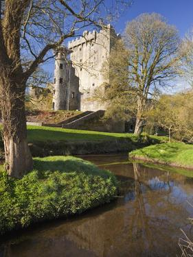 Blarney Castle in Springtime, County Cork, Munster, Republic of Ireland, Europe