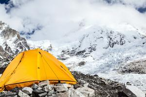 Everest Base Camp and Tent by blas