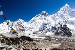 Mount Everest Mountains Landscape by blas