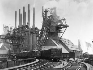 Blast Furnace of the Carnegie Steel Corp