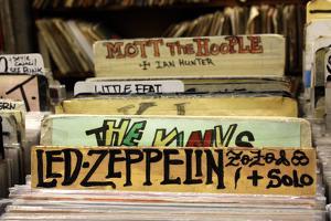 Bleeker Street Record Shop NYC