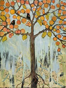 Botanical Art Tree Americans in Paris by Blenda Tyvoll