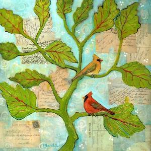 Cardinal Love Notes by Blenda Tyvoll