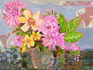 Chloe Rose Floral Arrangement by Blenda Tyvoll