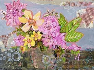 Chloe Rose Flowers by Blenda Tyvoll