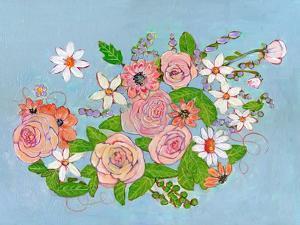 Chole Rose Flowers by Blenda Tyvoll