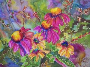 Coneflowers and Company by Blenda Tyvoll