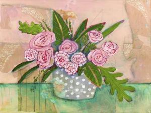 Evelyn Roses by Blenda Tyvoll