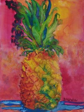 Hot Pink Pineapple by Blenda Tyvoll