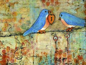 Love Lock by Blenda Tyvoll