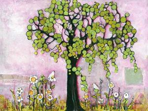Pink Paradise Tree by Blenda Tyvoll