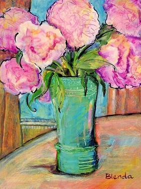 Pink Peonies by Blenda Tyvoll