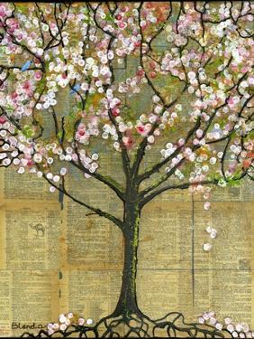 Print Art Lexicon Tree Wall Decor Best Seller by Blenda Tyvoll