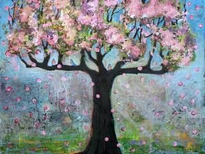 Spring Blossoms Tree by Blenda Tyvoll