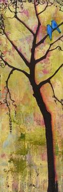 Three Trees Triptych Section 1 by Blenda Tyvoll