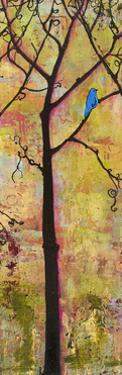 Three Trees Triptych Section 2 by Blenda Tyvoll